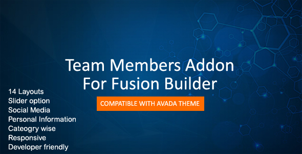 Team Members For Fusion Builder - CodeCanyon Item for Sale