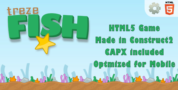 trezeFish - HTML5 One touch Game (+ mobile version) - CodeCanyon Item for Sale