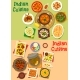 Indian Cuisine Dinner Dishes Menu Icon Set Design - GraphicRiver Item for Sale