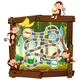 Monkey in Jungle Board Game - GraphicRiver Item for Sale