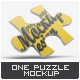 One Puzzle Piece Mock-Up - GraphicRiver Item for Sale