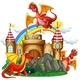 Red Dragon at The Castle - GraphicRiver Item for Sale