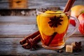 Hot mulled apple cider drink with cinnamon stick, cloves and anise - PhotoDune Item for Sale