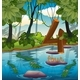 Four Crocodile in The Pond - GraphicRiver Item for Sale