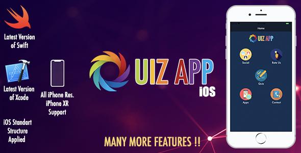 Quiz App iOS - CodeCanyon Item for Sale