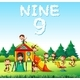 Nine Monkeys Playing at Playground - GraphicRiver Item for Sale