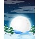 Night Winter Landscape - GraphicRiver Item for Sale