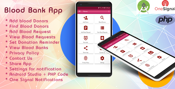 Blood Bank App With Material Design - CodeCanyon Item for Sale