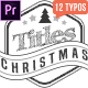 Christmas Title Pack - VideoHive Item for Sale