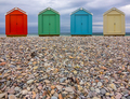 Pebble Beach Huts - PhotoDune Item for Sale