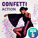 Free Download 3 Confetti Photoshop Action Nulled