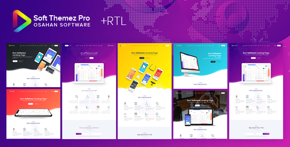 Soft Themez Pro - Software Landing Page Template