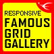 Famous - Responsive Image And Video Grid Gallery - CodeCanyon Item for Sale