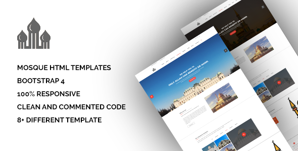Mosque - Bootstrap Responsive HTML5 Template