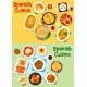 Spanish Cuisine National Dishes Icon Set Design - GraphicRiver Item for Sale