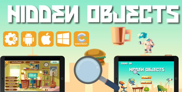Hidden Object - Html5 Game (CAPX) - CodeCanyon Item for Sale