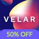 Velar — Creative and Modern Multipurpose PSD Template - ThemeForest Item for Sale
