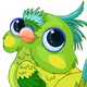 Cute Baby Parrot - GraphicRiver Item for Sale