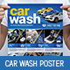 Car Wash Poster / Banner - GraphicRiver Item for Sale