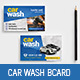 Car Wash Business / Loyalty Card - GraphicRiver Item for Sale