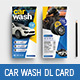 Car Wash DL Card - GraphicRiver Item for Sale