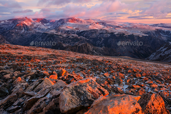 Beartooth pass - Stock Photo - Images
