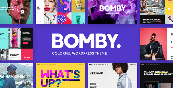 Bomby - Creative Multi-Purpose WordPress Theme - Creative WordPress