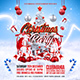 Christmas Party Flyer Template 3 - GraphicRiver Item for Sale