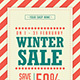 Winter Sale Flyer - GraphicRiver Item for Sale
