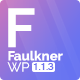 Faulkner - Responsive Multiuse WordPress Theme for Companies and Freelancers - ThemeForest Item for Sale