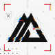 Black White Glitch Logo v2 - VideoHive Item for Sale