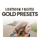 Free Download 8 Gold Lightroom Presets Nulled