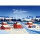 Winter Landscape with Village - GraphicRiver Item for Sale