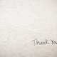 Hand writing thank you note - PhotoDune Item for Sale