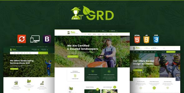 GRD - Garden Landscaper HTML Template - Desarrollador es