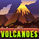 Volcanoes - Game Background - Side Scrolling - GraphicRiver Item for Sale