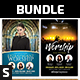 Church Flyer Bundle Vol. 59 - GraphicRiver Item for Sale