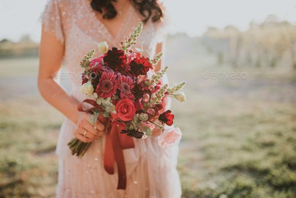 Wedding bouquet - Stock Photo - Images