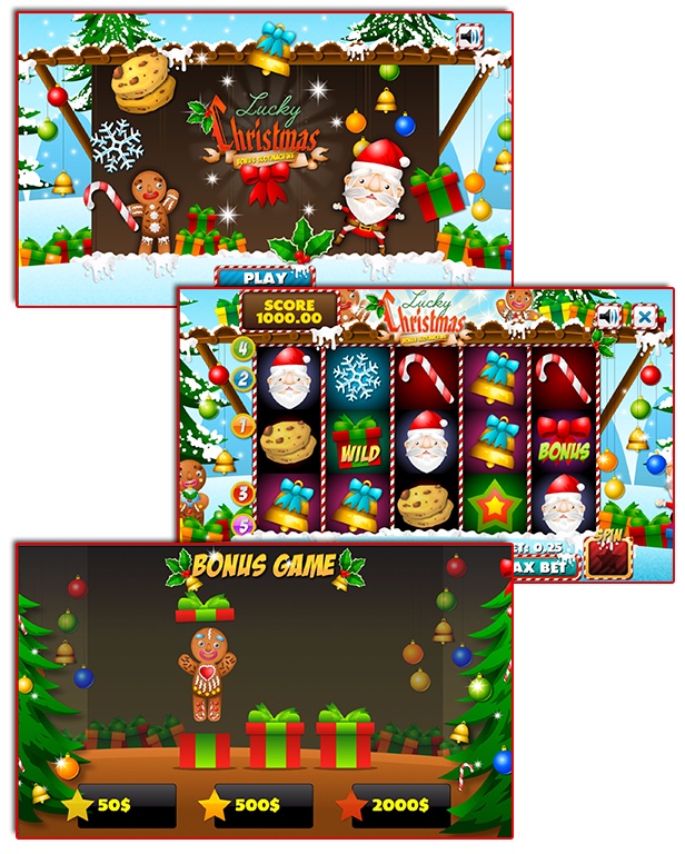 Christmas Casino Games