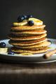Banana Oat Pancake with fresh Blueberry and Banana, - PhotoDune Item for Sale