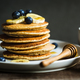 Banana,Oat Pancake with fresh Blueberry and Banana, - PhotoDune Item for Sale