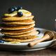 Banana,Oat Pancake with fresh Blueberry and Banana, - PhotoDune Item for Sale