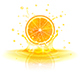 Orange in a Splash of Juice - GraphicRiver Item for Sale