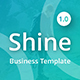 Shine Business Powerpoint Template - GraphicRiver Item for Sale