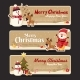 Free Download Set of Christmas Banner Nulled