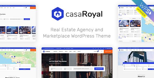 casaRoyal - Real Estate WordPress Theme - Real Estate WordPress