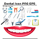 Dental Flat Icon - GraphicRiver Item for Sale