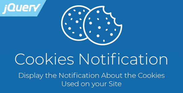 Cookies Notification - Responsive jQuery Plugin, Compliant with EU GDPR Law - CodeCanyon Item for Sale