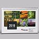 Desk Calendar for 2019 | Updated - GraphicRiver Item for Sale