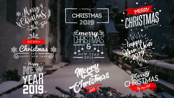 Christmas Titles 22831974 - Project for After Effects (Videohive)